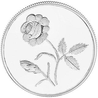 50GM Gitanjali Rose 999 Silver Coin