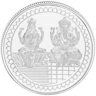 50GM Gitanjali Ganesh-Laxmi 999 Silver Coin