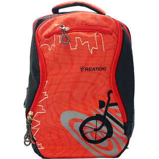 Reations Orange Colour Amazing Backpack