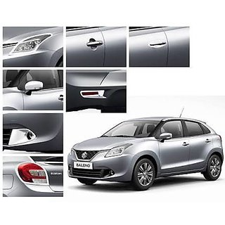 Baleno images in white colour dress