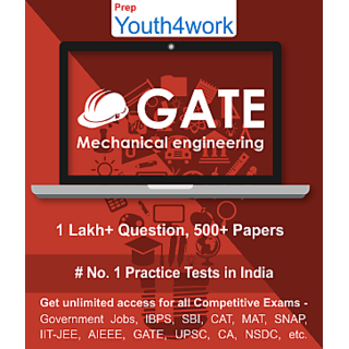 GATE Mechanical Engineering Best Online Practice Tests Prep - Unlimited Access - 500+ topic wise tests for All  Competit