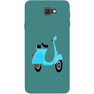 Casotec Scooter Design 3D Printed Hard Back Case Cover for Samsung Galaxy J7 Prime