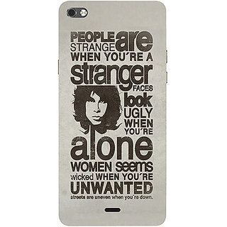Casotec Quotes Pattern Design 3D Printed Hard Back Case Cover for Micromax Canvas Sliver 5 Q450