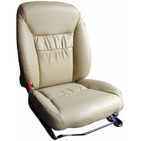 Hi Art Beige Leatherite Seat Cover For Wagon R Stingray (All Models) - Option 4