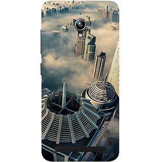 Casotec City Scapes Design 3D Printed Hard Back Case Cover for Asus Zenfone Go ZC500TG 5inch