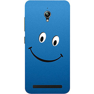 Casotec Happy Design 3D Printed Hard Back Case Cover for Asus Zenfone Go ZC500TG 5inch