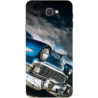 Casotec Vintage Car Pattern Design 3D Printed Hard Back Case Cover for Samsung Galaxy J7 Prime