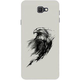 Casotec Eagle Paint Design 3D Printed Hard Back Case Cover for Samsung Galaxy J7 Prime