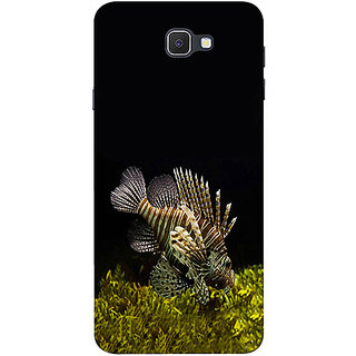 Casotec Sea Animals Design 3D Printed Hard Back Case Cover for Samsung Galaxy J7 Prime