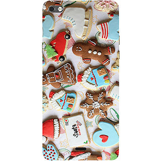 Casotec New Year Cookies Design 3D Printed Hard Back Case Cover for Micromax Canvas Sliver 5 Q450