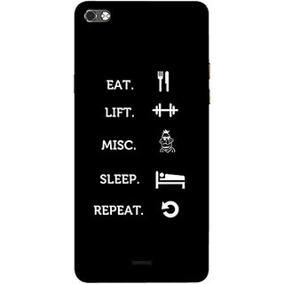 Casotec Motivational Quote Design 3D Printed Hard Back Case Cover for Micromax Canvas Sliver 5 Q450