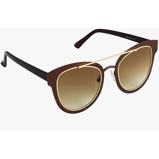 d0f291220c Buy 6by6 Brown UV Protection Women Cat-eye Sunglass Online - Get 73% Off
