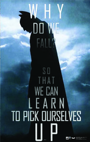 Hungover Batman Quotes Special Paper Poster (14x22 inches)