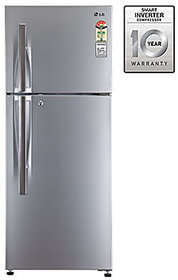 LG GL-I292RPZL 260 Litres Double Door Frost Free Refrigerator (Silver)