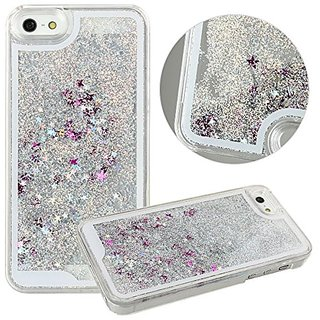Sunday Gallery Flowing Liquid Water Floating Luxury Bling Glitter Sparkle Stars Hard Case Cover For iPhone 6S 4.7