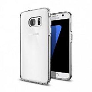 Galaxy S7 Case, Spigen [Ultra Hybrid] AIR CUSHION [Crystal Clear] Clear back panel + TPU bumper for Samsung Galaxy S7 (2016) - (555CS20008)