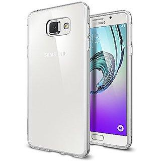Spigen Liquid Crystal Ultra Thin Premium Semi Transparent Lightweight & Soft Case For Samsung Galaxy A7 (2016)