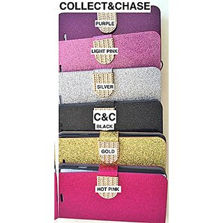 C&C BLING GLITTER CREDIT CARD/ID SLOTS two piece soft/hard fitted phone case with (screen protector) for iPhone 6 4.7
