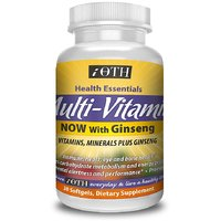 IOTH Multi-Vitamin For Men And Women With Ginseng -Daily Best Dietary Supplement