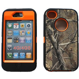 Generic MC0132 Cell Phone Case for iPhone 4s - Non-Retail Packaging