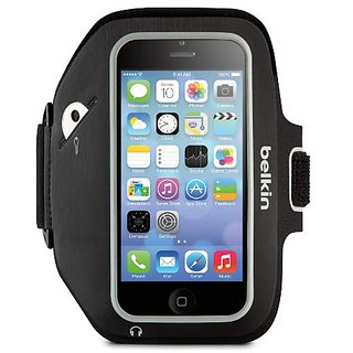 Belkin Sport-Fit Plus Armband for iPhone 5 / 5S / 5c / SE (Blacktop / Overcast)