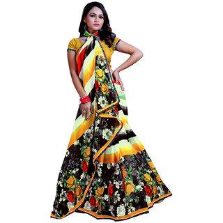 High Quality Chiffon Saree with Blouse