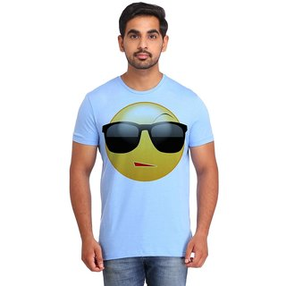 Snoby Style Smiley printed t-shirt (SBY16699)