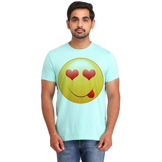 Snoby Love Look Smiley printed t-shirt (SBY16707)