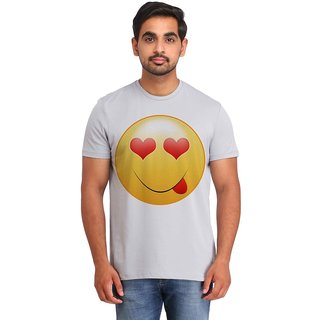 Snoby Love Look Smiley printed t-shirt (SBY16708)