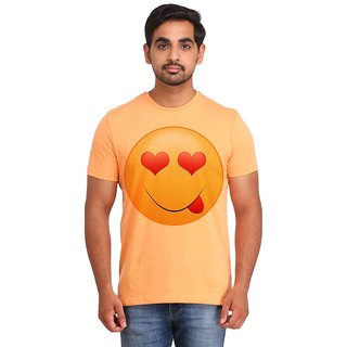 Snoby Love Look Smiley printed t-shirt (SBY16710)