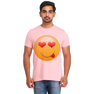 Snoby Love Look Smiley printed t-shirt (SBY16711)