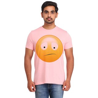 Snoby Confused Smiley printed t-shirt (SBY16718)