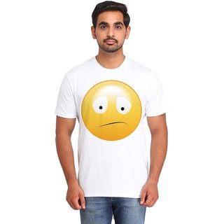 Snoby Confused Smiley printed t-shirt (SBY16719)