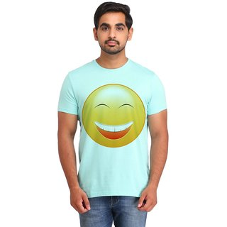 Snoby Laughing Smiley printed t-shirt (SBY16721)
