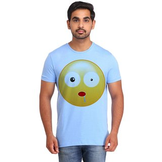 Snoby Shocked Smiley printed t-shirt (SBY16734)