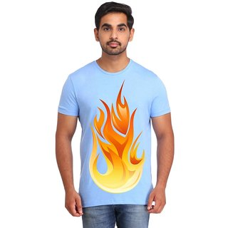 Snoby Fire printed t-shirt (SBY16678)