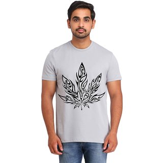 Snoby Multi leaf printed t-shirt (SBY16806)
