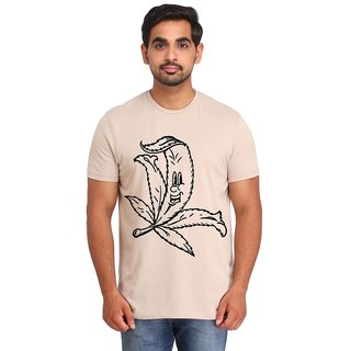 Snoby Long leaf printed t-shirt (SBY16814)