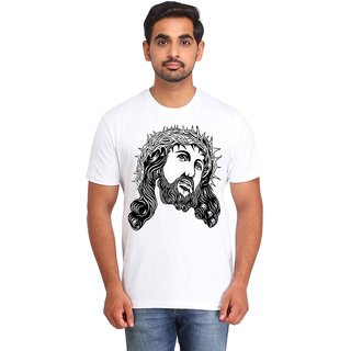 Snoby Warrior face printed t-shirt (SBY16936)