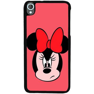 Ayaashii Minnie Face Back Case Cover for HTC Desire 820::HTC Desire 820Q::HTC Desire 820S