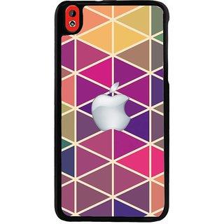Ayaashii Apple Cut Diamon Pattern Back Case Cover for HTC Desire 816::HTC Desire 816 G