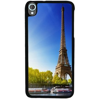 Ayaashii Eifil Tower Back Case Cover for HTC Desire 820::HTC Desire 820Q::HTC Desire 820S