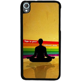 Ayaashii Yoga Is Your Nature Back Case Cover for HTC Desire 820::HTC Desire 820Q::HTC Desire 820S