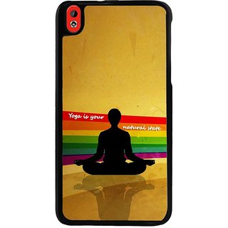 Ayaashii Yoga Is Your Nature Back Case Cover for HTC Desire 816::HTC Desire 816 G