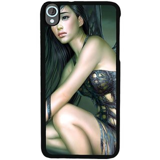 Ayaashii Animated Girl Back Case Cover for HTC Desire 820::HTC Desire 820Q::HTC Desire 820S