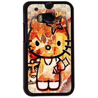 Ayaashii Designer Hello Kitty Back Case Cover for HTC One M8::HTC M8