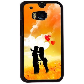 Ayaashii Romantic Couple Back Case Cover for HTC One M8::HTC M8