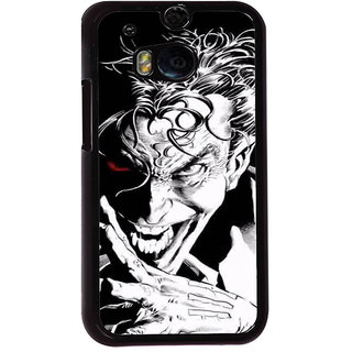 Ayaashii Angry Jocker Back Case Cover for HTC One M8::HTC M8