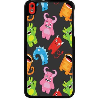 Ayaashii Cartoons Pattern Back Case Cover for HTC Desire 816::HTC Desire 816 G
