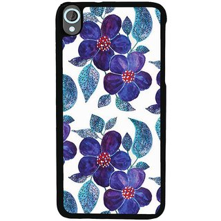Ayaashii Flowers Pattern Back Case Cover for HTC Desire 820::HTC Desire 820Q::HTC Desire 820S
